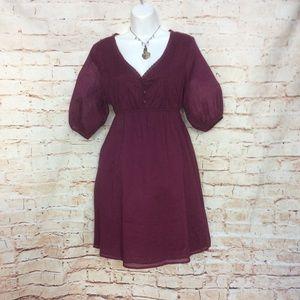 Old Navy Cotton Boho Dress sz Med